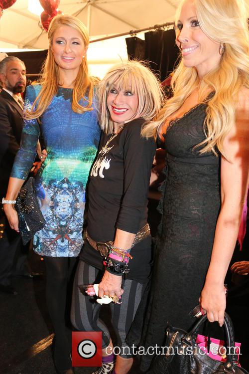 Paris Hilton, Betsey Johnson and LuLu Johnson 2