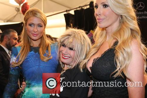Paris Hilton, Betsey Johnson and LuLu Johnson 3