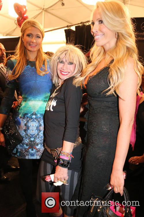 Paris Hilton, Betsey Johnson and LuLu Johnson 5