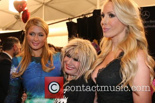 Betsey Johnson, Paris Hiltonbetsey Johnson and Lulu Johnson 3