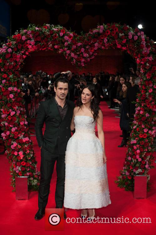 Colin Farrell and Jessica Brown Findlay 3