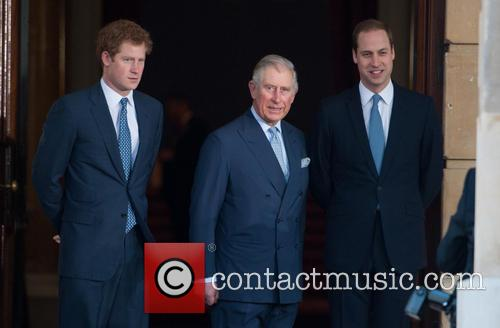 Prince Harry, William, The Duke Of Cambridge, Prince Charles and The Prince Of Wales 4