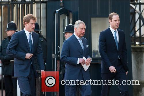 Prince Harry, William, The Duke Of Cambridge, Prince Charles and The Prince Of Wales 7