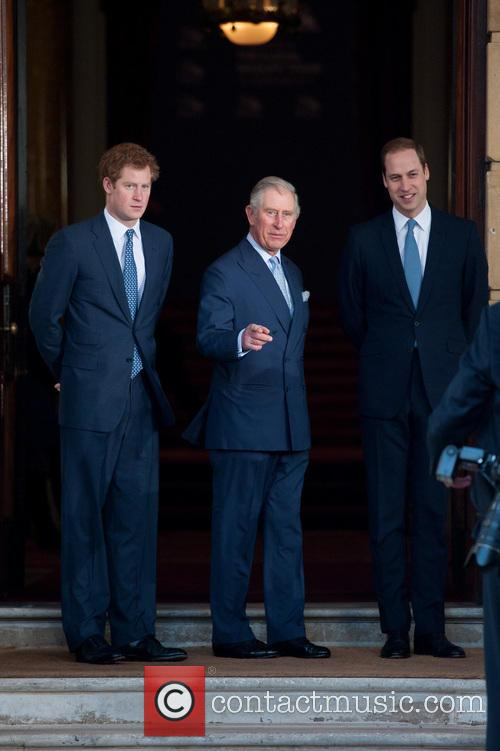 Prince Harry, William, The Duke Of Cambridge, Prince Charles and The Prince Of Wales 1