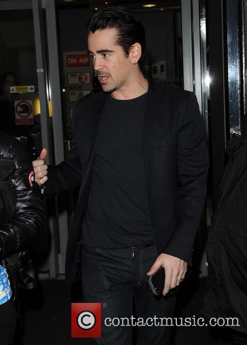 Colin Farrell leaves the BBC