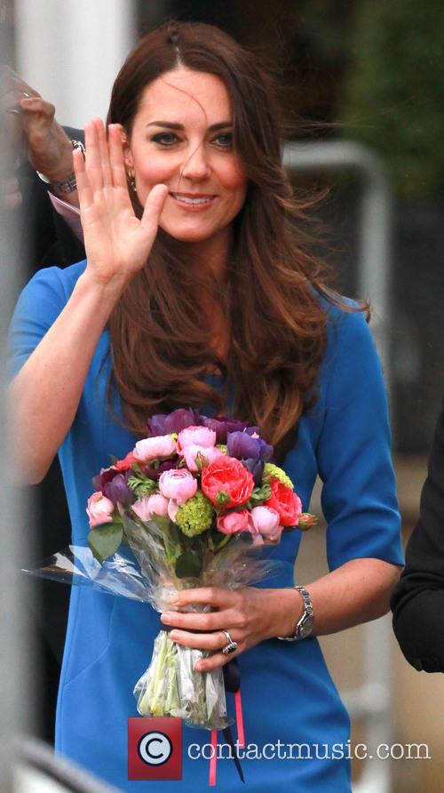 Duchess of Cambridge departure