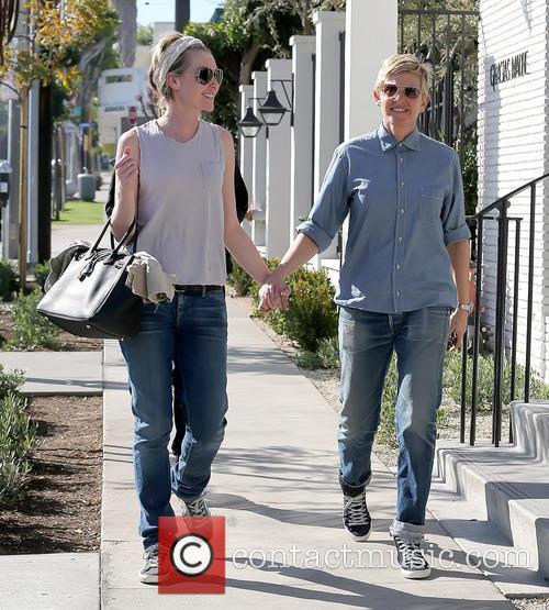 Ellen Degeneres and Portia De Rossi 6