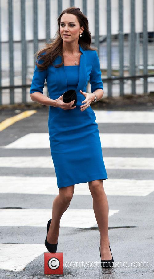 Catherine, Duchess of Cambridge arrives for the opening...