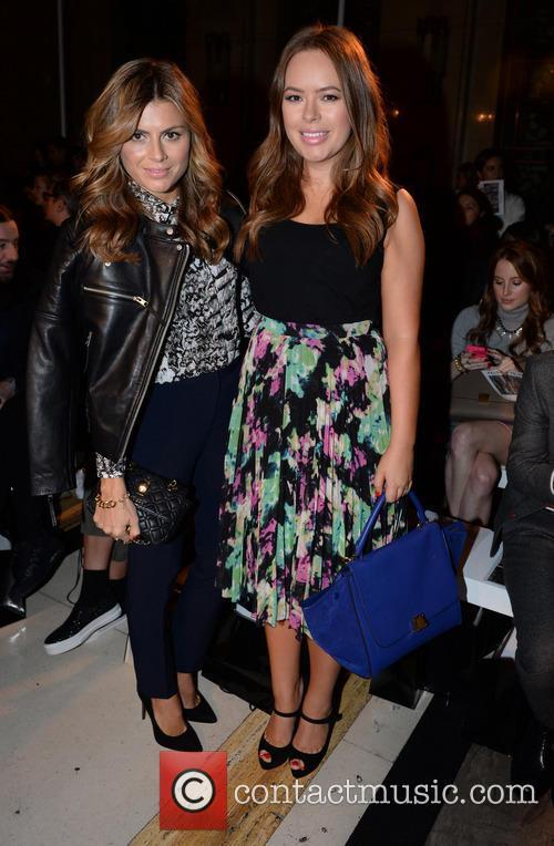 Zoe Hardman, Tanya Burr, London Fashion Week
