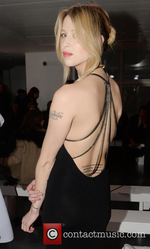 Peaches Geldof, London Fashion Week