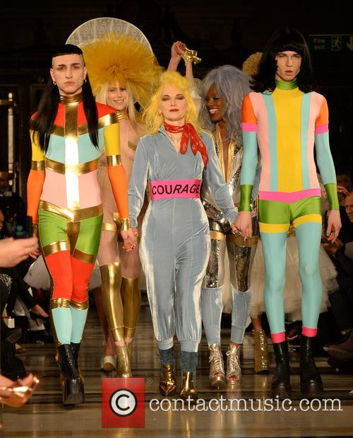 Pam Hogg at london fashion week