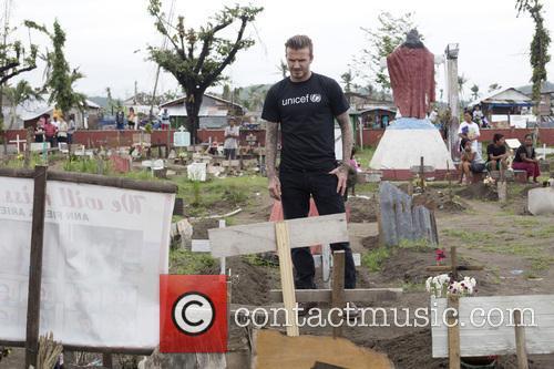 UNICEF Goodwill Ambassador David Beckham visits the Philippines