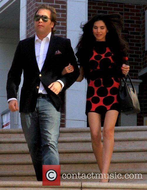 Joyce Giraud and husband Michael Ohoven out in...