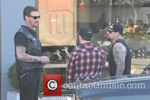 Joe Madden and Benji Madden 11