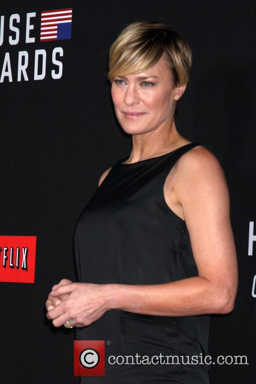 Robin Wright, House of Cards Premiere