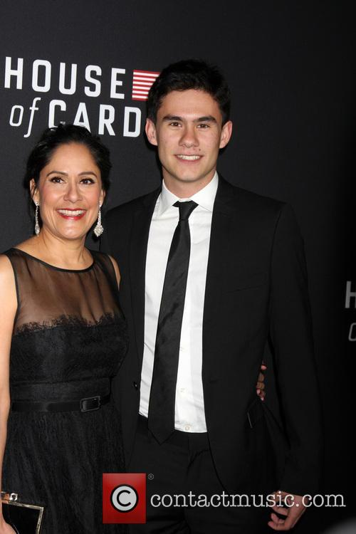 Sakina Jaffrey and Son 3