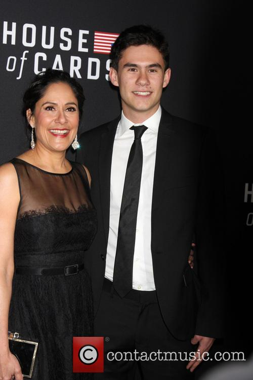 Sakina Jaffrey and Son 5