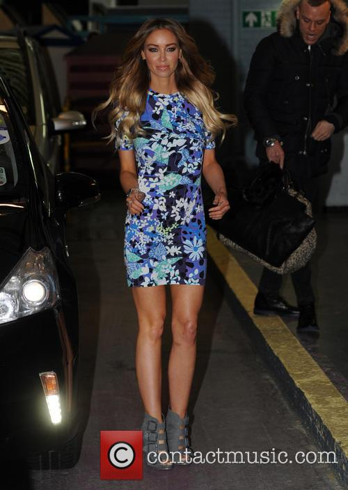 Lauren Pope at the ITV studios