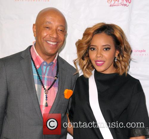 Russell Simmons and Angela Simmons 2