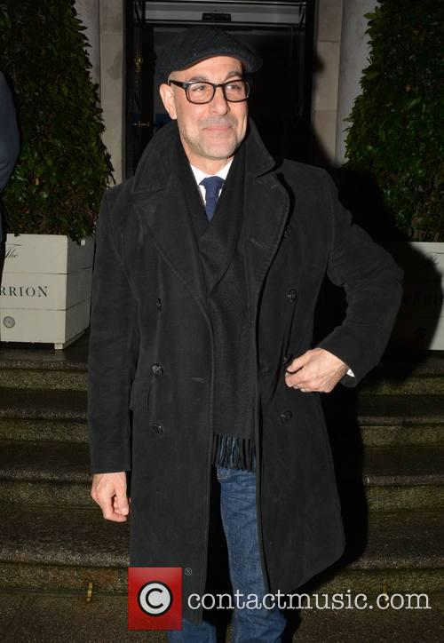 Stanley Tucci at The Merrion Hotel