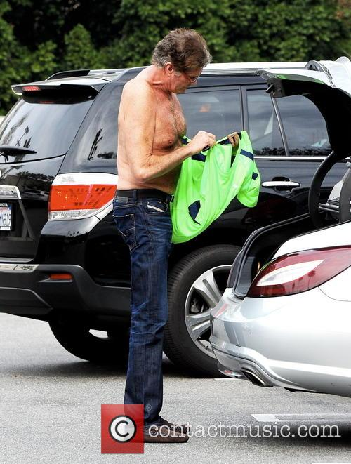 Former 'Baywatch' star David Hasselhoff shows off a toned physique at age 61