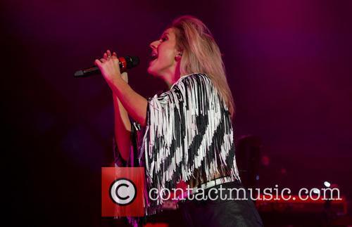 Ellie Goulding performs in Amsterdam
