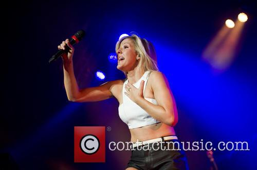 Ellie Goulding performs in Amsterdam