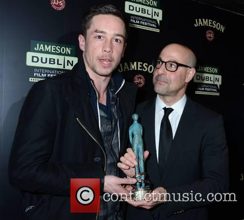 Killian Scott and Stanley Tucci