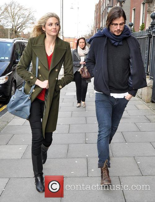 Josh Hartnett and girlfriend Tamsin Egerton visit The...