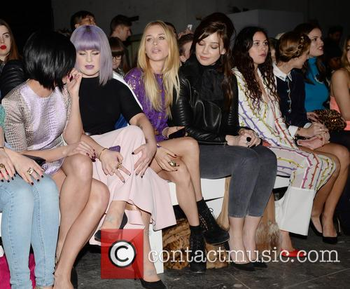Henry Holland front row at London Fashion week