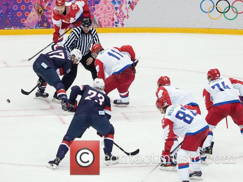 Hockey, Sochi, Winter Olympics, United States and Russia 3