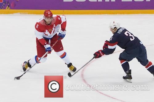 Hockey, Sochi, Winter Olympics, United States and Russia 4