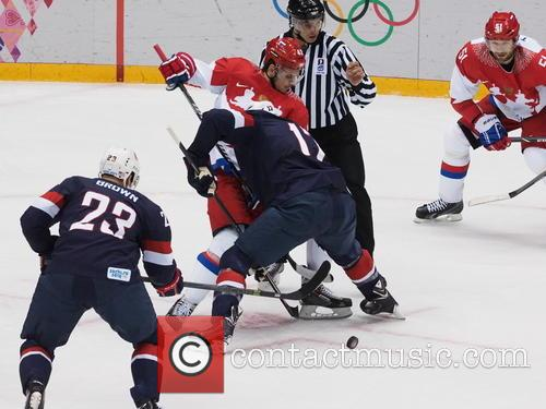 Hockey, Sochi, Winter Olympics, United States and Russia 10