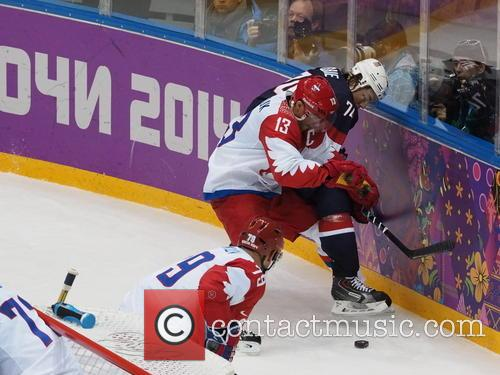Hockey, Sochi, Winter Olympics, United States and Russia 12