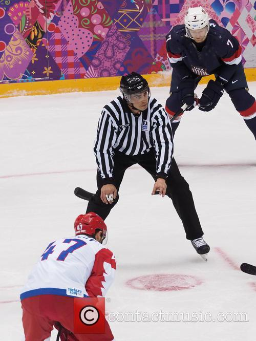 Hockey, Sochi, Winter Olympics, United States and Russia 29