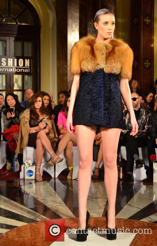 Imogen Thomas, London Fashion Week