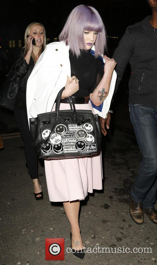 Kelly Osbourne, London Fashion Week