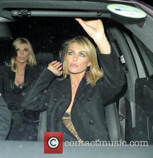 abbey clancy london fashion week autumn winter 4069451