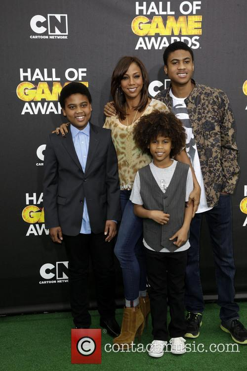 holly robinson peete family cartoon networks hall of 4069506