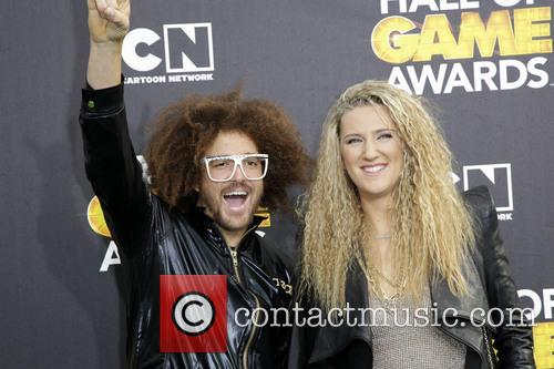 Redfoo and Victoria Azarenka 3