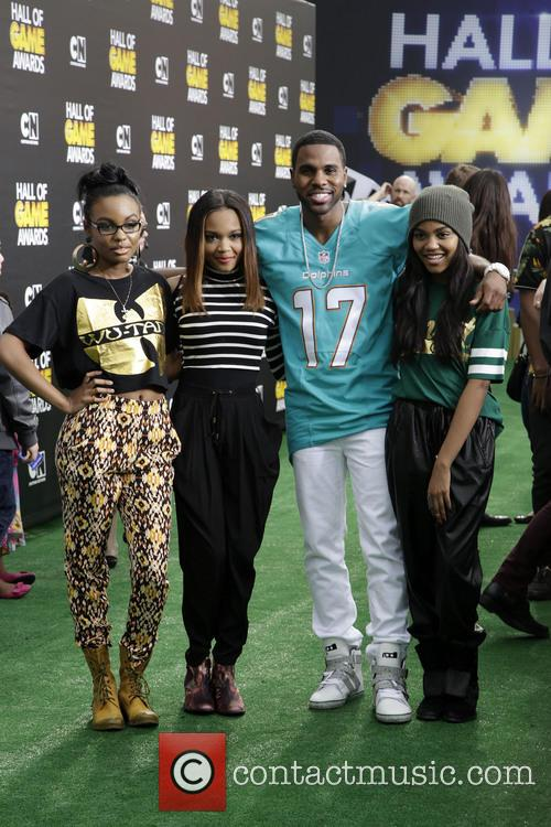The Mcclain Sisters, Sierra Mcclain, Lauryn Mcclain, Jason Derulo and China Anne Mcclain