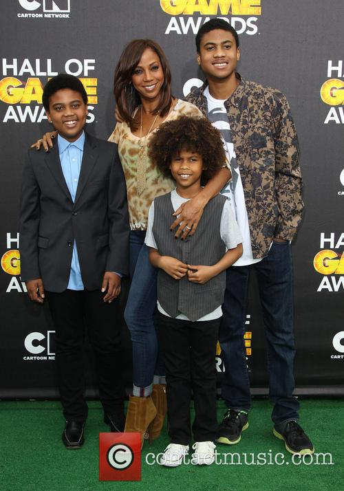 Holly Robinson Peete and Children 8