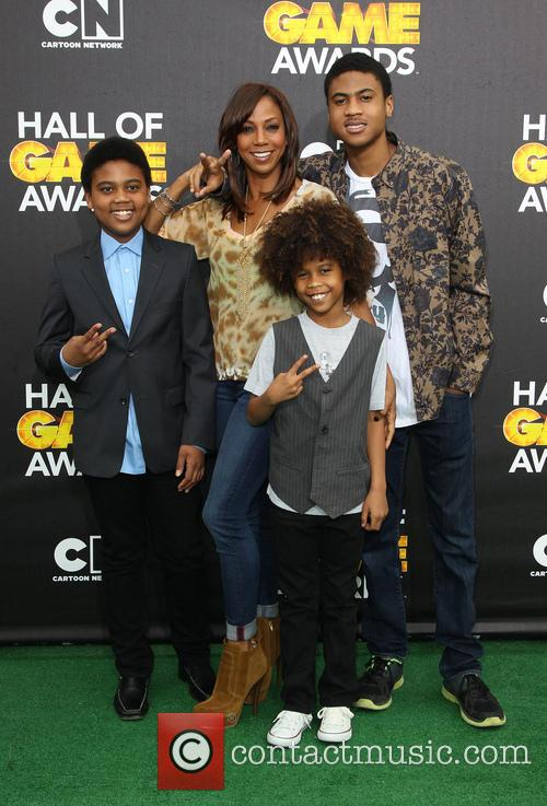 Holly Robinson Peete and Children 9