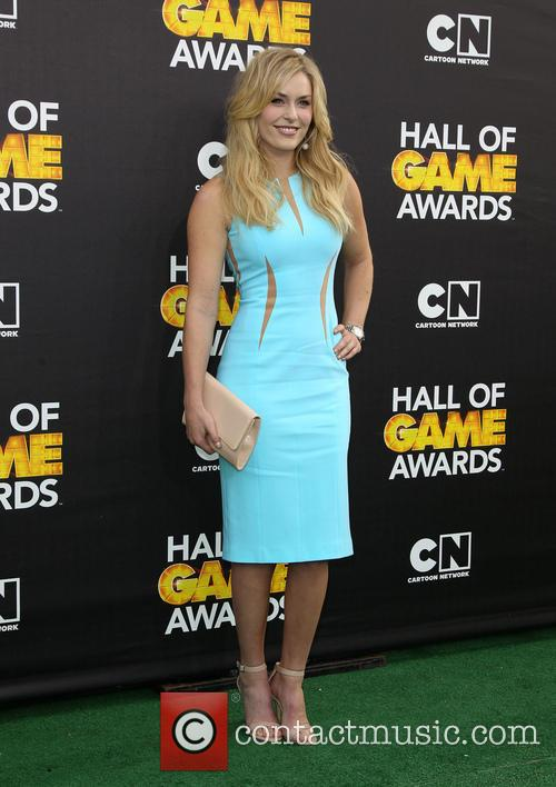 lindsey vonn cartoon networks hall of game 4069780