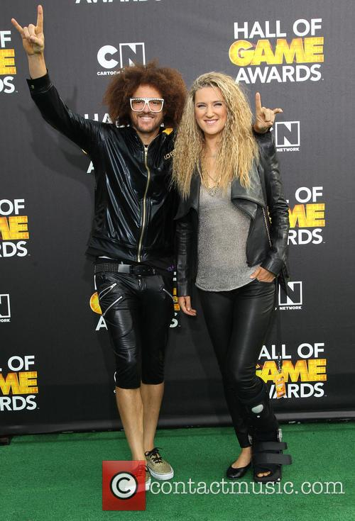 Redfoo and Victoria Azarenka 5
