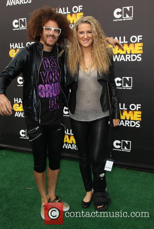 Redfoo and Victoria Azarenka 9