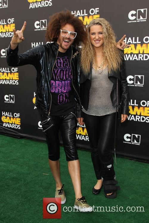 Redfoo and Victoria Azarenka 10