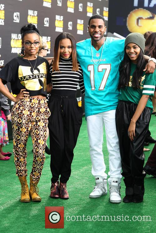 Sierra Mcclain, China Anne Mcclain, Jason Derulo and Lauryn Mcclain 1