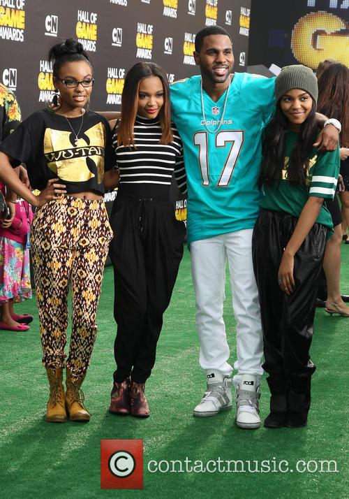 Sierra Mcclain, China Anne Mcclain, Jason Derulo and Lauryn Mcclain 2