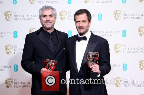 Alfonso Cuaron and David Heyman 3